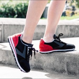 BROOKS HERITAGE sneakers-black and red